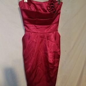 Teeze Me red dress size 7
